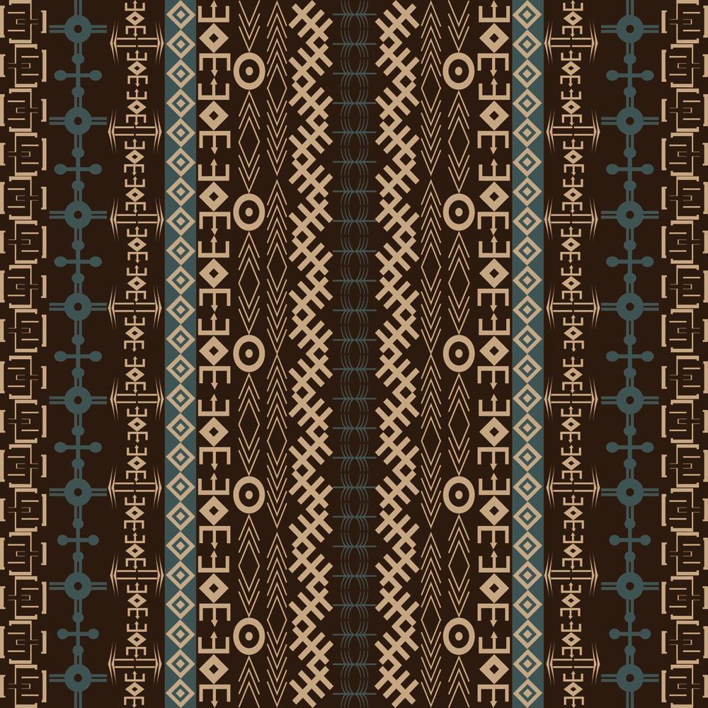 tribal design wallpaper brown - photo #40